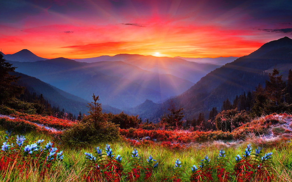 Mountain_Sunset_Wallpaper